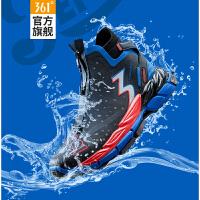 【券后�A估�r:314】Q���速雨屏Plus百事|361男鞋�\�有�2020秋冬季Q立方防��水跑鞋男