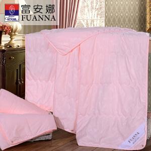 [当当自营]富安娜家纺床上用品夏被空调被夏凉被 婉安空调被-粉色 1.8床(230*229cm)