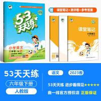 53天天练六年级下语文 部编人教版六年级下册五三同步练习册