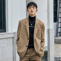太平鸟男装 新款休闲西装男商务韩版潮流单西男士正装外套小西服