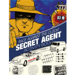 Race Against the Clock! Secret Agent Activity Book (【按需印刷】)