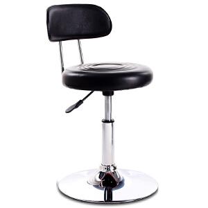椅子 家用椅酒吧椅美容椅子靠背凳子旋转升降吧椅高脚凳子 创意家具
