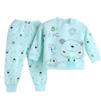 儿童保暖内衣套装夹棉加厚男女宝宝秋衣秋裤冬季婴儿加绒加厚衣服