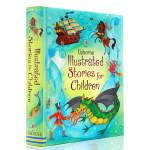 英文原版绘本 Usborne Illustrated Stories for Children 精装插图故事书 学生英