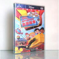 原装正版 迪士尼动画幼教 小爱因斯坦 dvd 美国探索(3-6岁) 中英双语