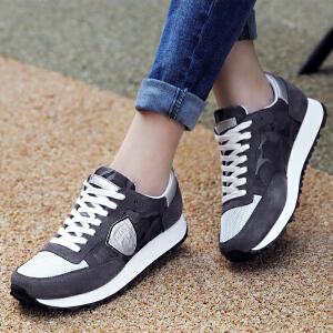 ZHR2017春季新款韩版运动鞋女跑步鞋休闲百搭平底单鞋学生女鞋潮G95