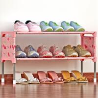 林仕屋简易多层鞋架 组装防尘鞋柜简约现代经济型铁艺收纳架K123