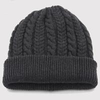 秋冬季帽子男冬天保暖包头帽韩版潮毛线帽套头帽男士双层加厚
