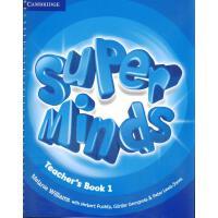 英音版剑桥小学英语教材 Super Minds Level 1 Teacher's Book 教师用书Level 1级别