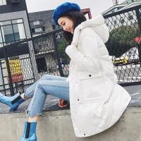 七格格欧货冬款羽绒服女中长款2018新款冬装季韩版连帽时尚外套潮