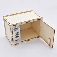 科技小制作 幼儿园科技玩具小发明diy机械密码箱制作材料