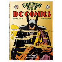TASCHEN出版DC漫画的黄金时代The Golden Age of DC Comics蝙蝠侠