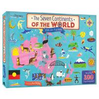 【首页抢券300-100】The Seven Continents Of The World 世界七大洲 儿童科普百科翻
