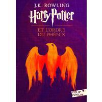 法语原版 哈利波特与凤凰社 Harry Potter, V : Harry Potter et l'Ordre du