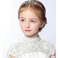 新年时尚宝宝儿童皇冠头饰 公主水钻发箍水钻女童发饰