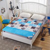 榻榻米法莱绒床垫学生宿舍床褥子可折叠单人双人垫被加厚0.9m/1.5