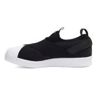 Adidas阿迪达斯女鞋 三叶草贝壳头低帮运动休闲鞋 BZ0112
