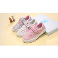 春季儿童帆布鞋小白鞋女童球鞋板鞋休闲鞋