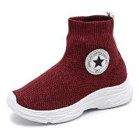 儿童袜子鞋女童鞋男童鞋冬季鞋子高帮鞋儿童鞋运动鞋