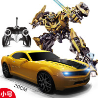 勾勾手变形4金刚玩具遥控车变形汽车人大黄蜂机器人充电玩具男孩