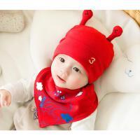 新生儿帽子春秋季宝宝套头帽薄款婴幼儿胎帽男女孩