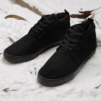 新款冬季雪地靴男面包鞋加绒保暖鞋男士加厚棉鞋韩版防水防滑短靴