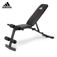 阿迪达斯(adidas)哑铃凳多功能仰卧板 可调节家用健身椅飞鸟卧推凳健身器材ADBE-10436