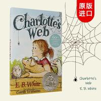 夏洛的网英文原版 包邮 Charlotte's Web 夏洛特的网 英文原版童书 经典故事书 E. B. White E・B・怀特经典作品、儿童经典文学名著