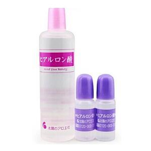 日本太阳社玻尿酸透明质酸原液精华80ml+10ml*2保湿补水套装易吸收