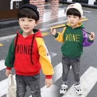 男童保暖卫衣童装冬装儿童上衣秋冬洋气潮衣