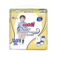 大王 GOO.N婴儿短裤式纸尿裤 尿不湿 光羽系列XXL20片