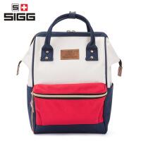 (中号)SIGG双肩包女手提通用简约旅行学生书包anello双肩包同款轻便携带