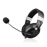 英语听说耳机头戴式USB电脑笔记本耳麦中高考人机对话录音带话筒