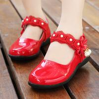 童鞋女童皮鞋2017新款秋季韩版宝宝公主鞋软底休闲鞋百搭儿童单鞋