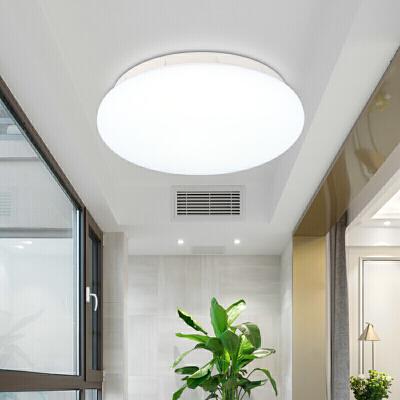 雷士照明 LED吸顶灯 圆形卧室书房阳台现代时尚吸顶灯具简约灯