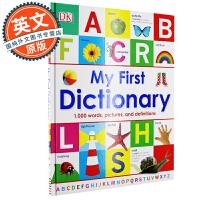 我的第一部儿童字典 My First Dictionary 修订版 英文原版 进口儿童英语入门字典词典 DK出版 5-