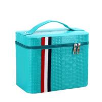 化妆包旅行双层手提化妆箱大号护肤化妆品多层收纳盒小方包