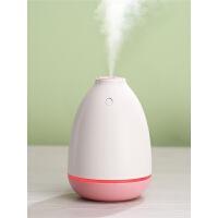迷你加湿器家用静音卧室小型办公室桌面孕妇婴儿大雾量车载学生空气脸部少女补水