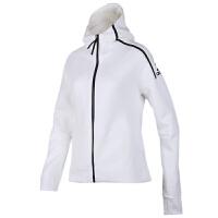 Adidas阿迪达斯女装ZNE运动夹克休闲连帽外套EK4324