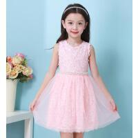 女童连衣裙韩版儿童公主裙夏季夏装新款童装女童裙子  可礼品卡支付