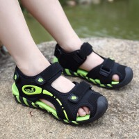儿童凉鞋男童夏季新款厚底防滑耐磨拖鞋中大童4-5-6-7-8-9-10岁男孩时尚清凉舒适软底沙滩鞋子