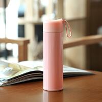 【好货优选】马卡龙保温杯不锈钢女学生ins可爱便携简约大容量小巧水杯子