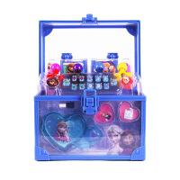 迪士尼公主儿童化妆品玩具套装彩妆盒无毒女孩手提箱冰雪奇缘礼物