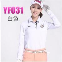 春季衣服球服 韩版女装上衣 高尔夫服装 女士长袖T恤