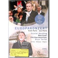 现货 [中图音像]2019年柏林爱乐欧洲音乐会 1DVD Europakonzert 2019 - Berliner