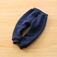 儿童棉裤冬季空气层男童长裤子女童装宝宝保暖裤