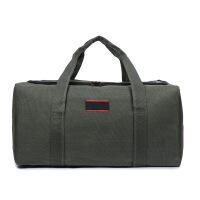 户外旅行大包大容量帆布手提斜挎男包行李包旅游单肩包行李袋加厚