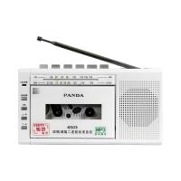 PANDA/熊猫 6503收录机磁带转mp3插卡U盘便携式可放磁带的收音录音机英语学生教学用播放机器老式怀旧多功能 白色