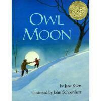 Owl Moon 英文原版 《月下看猫头鹰》1988年 凯迪克金奖绘本 精装