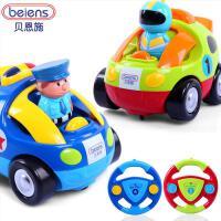 贝恩施 正品仿真车儿童遥控车批发模型玩具车小跑汽车遥控玩具